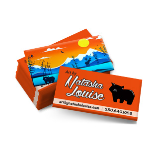 Art By Natasha Louise Business Card