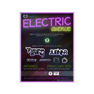 Electric Avenue Event Collateral